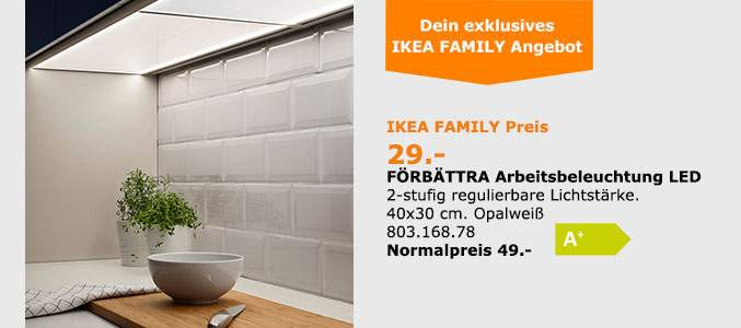 ikea n rnberg f rth arbeitsbeleuchtung f rb ttra z b 40 x 37 cm mit der ikea family card. Black Bedroom Furniture Sets. Home Design Ideas