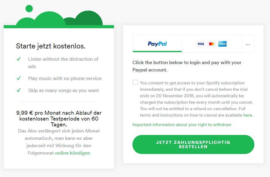 Spotify Premium 2 Monate Kostenlos Neukunden Mydealzde