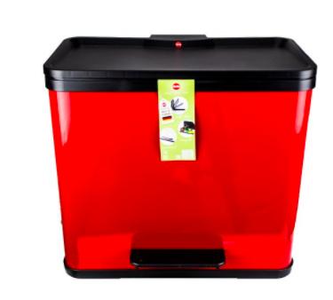 update hailo ko trio 33 m lleimer zur 3 fachen m lltrennung in rot f r 34 12 bei top12. Black Bedroom Furniture Sets. Home Design Ideas