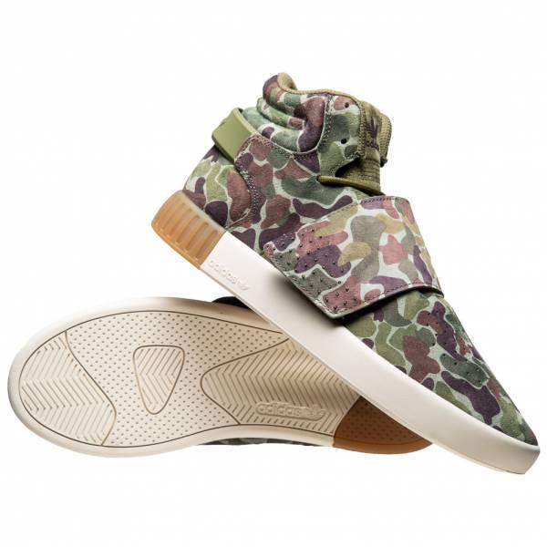 Adidas Herren Originals Invader Tubular Sneaker Bb8393 Strap Str EHIWY92D