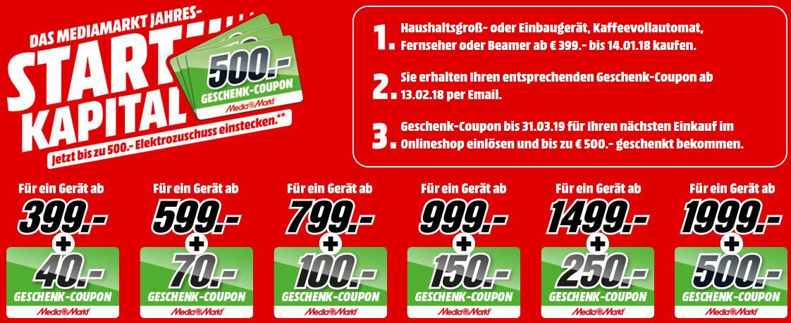 Mediamarkt Jahres Startkapital Angebote Mit Bis Zu 500 Geschenk