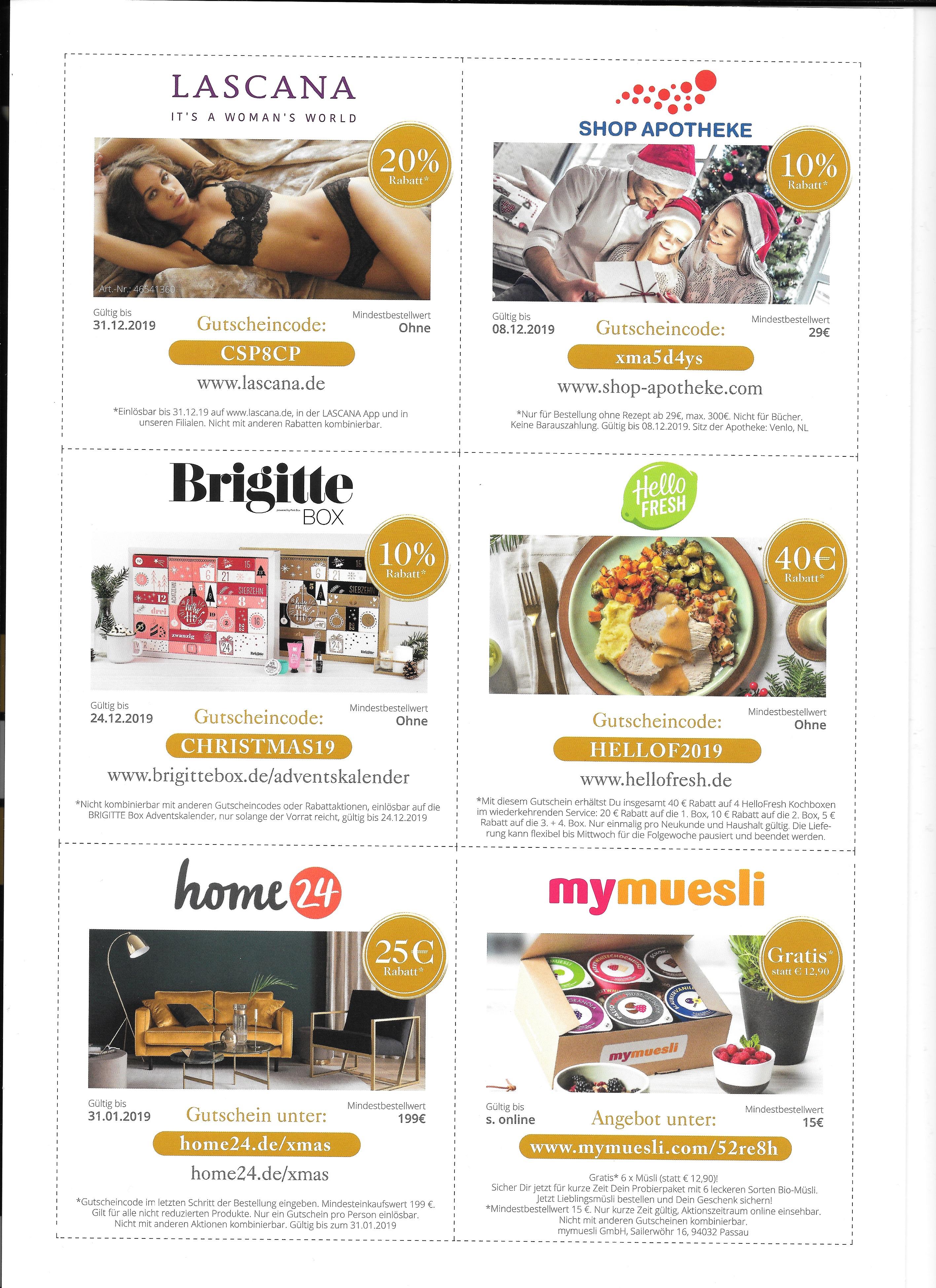 Christmas Shopping Days Shopping Booklet Limango Eisde