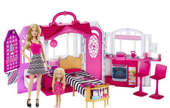 barbie regenbogen schloss f r 63 99 bei galeria kaufhof. Black Bedroom Furniture Sets. Home Design Ideas