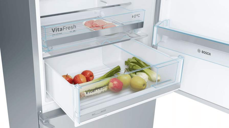 Bosch Kühlschrank Null Grad Zone : Kühl gefrierkombination bosch kge49bi41 a 301l kühlen 111l