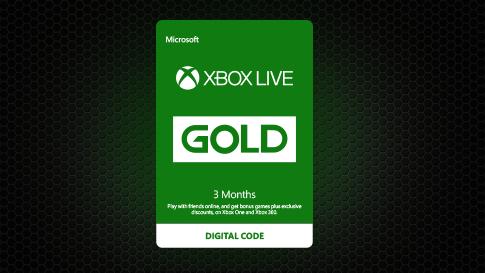 Microsoft 3 Monate Xbox Live Gold 1000 Vbucks Für