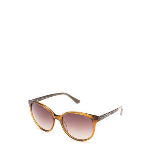 Guess Sonnenbrille, UV 400, grau/braun gemustert