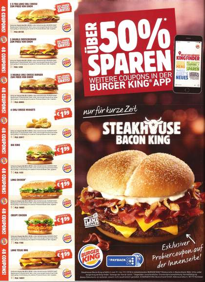 Fast Food Coupons