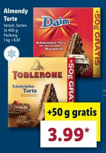 Daim Toblerone Torte 400g 50g Mydealz De