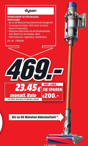 mediamarkt potsdam dyson cyclone v10 absolute. Black Bedroom Furniture Sets. Home Design Ideas