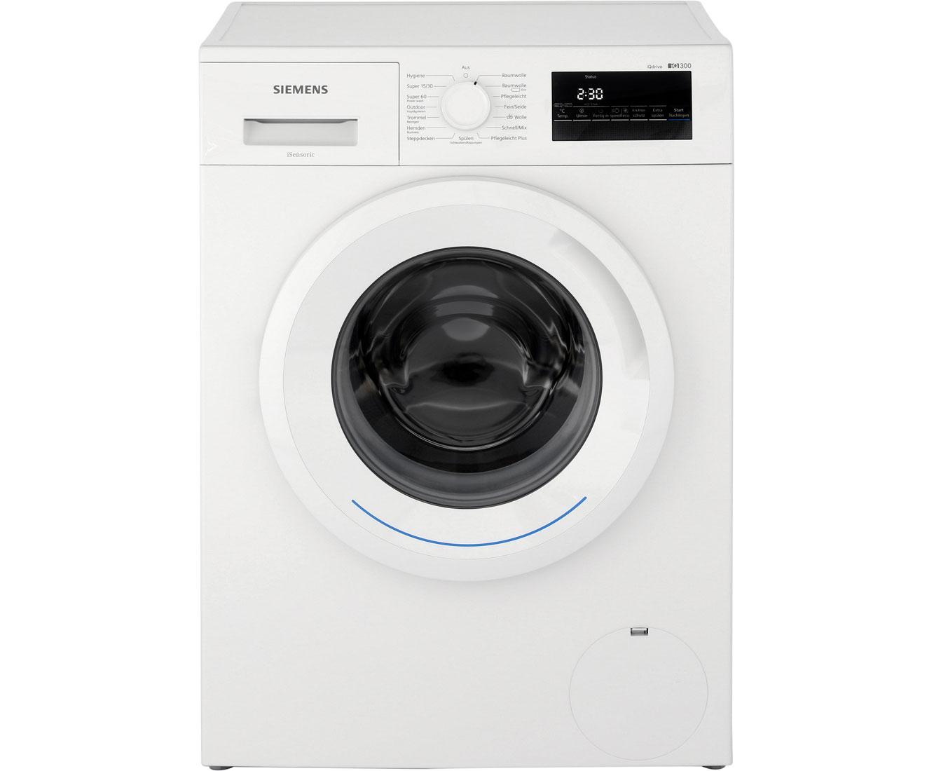 Siemens spartage bei ao z b iq waschmaschine mit inverter