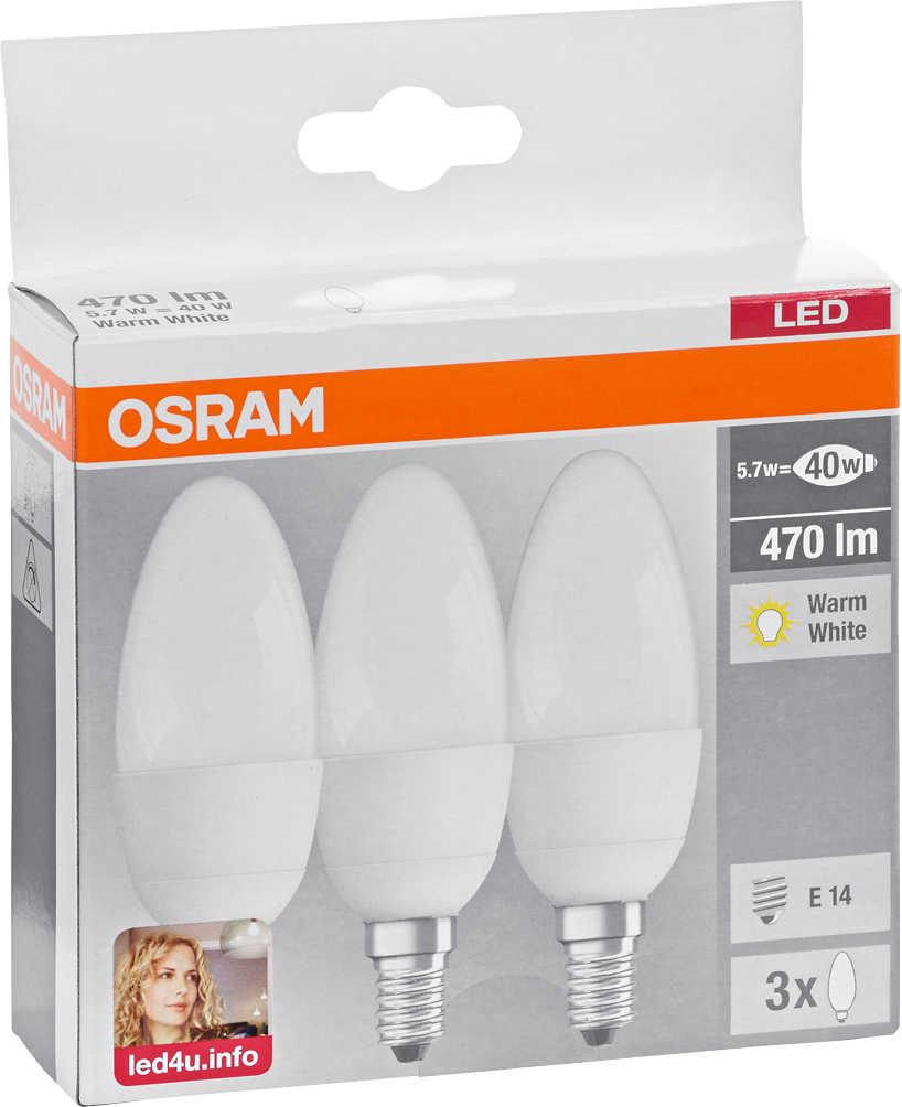 Osram Led Reflektorlampen Gu10 Led Kerzen E14 Clb40 Led Lampen