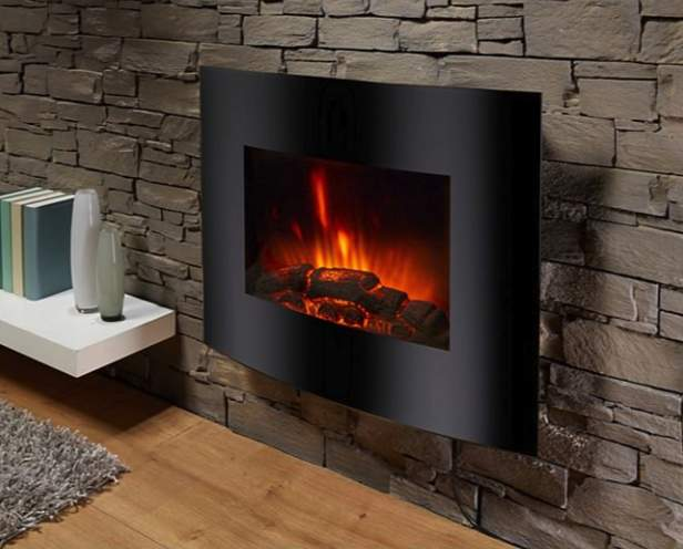 el fuego aarau elektrokamin mit heizfunktion und kaminfeuer effekt bei netto md online. Black Bedroom Furniture Sets. Home Design Ideas