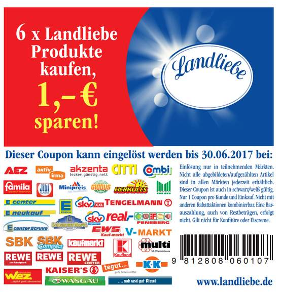 2x landliebe landk se versch sorten 150g f r nur 0 79 packung kaufland ab. Black Bedroom Furniture Sets. Home Design Ideas