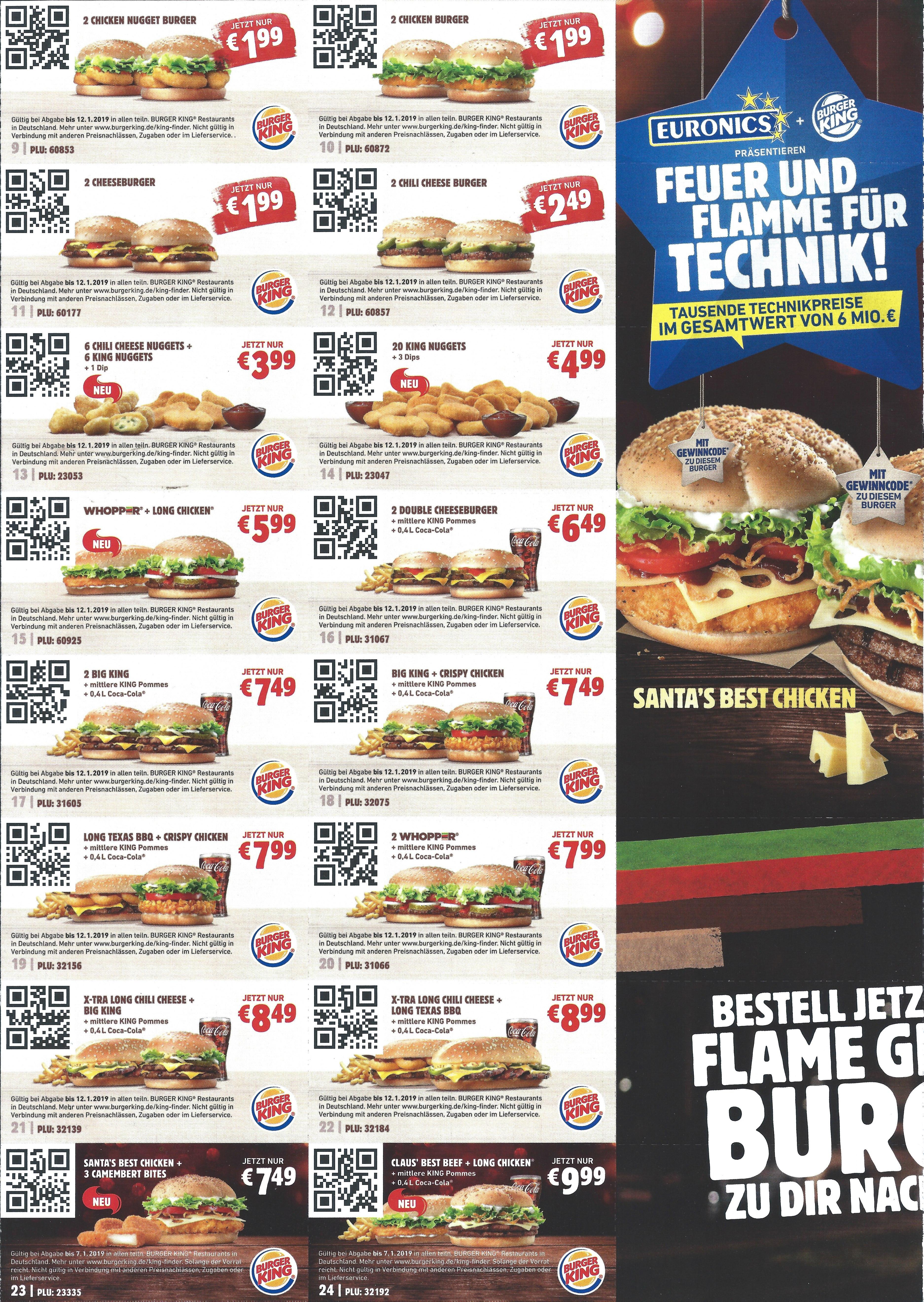 burger king gutscheine bundesweit g ltig bis. Black Bedroom Furniture Sets. Home Design Ideas
