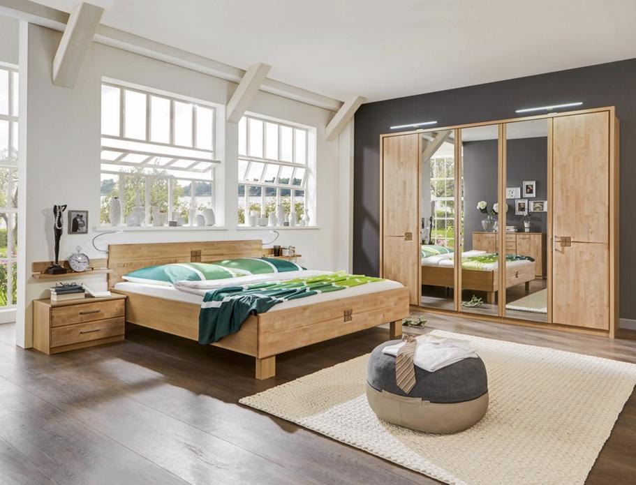 schlafzimmer aus erle teilmassiv für 666€ versandkostenfrei bei