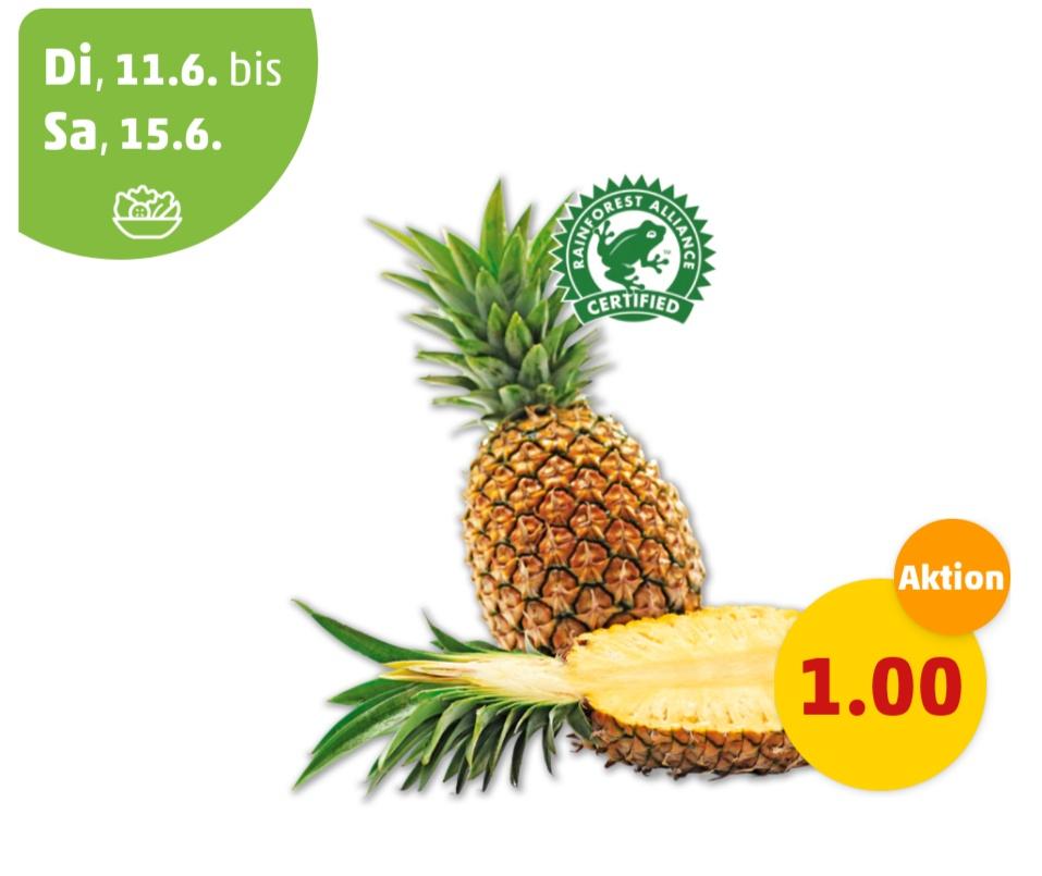 Sperma schmeckt besser mit ananas