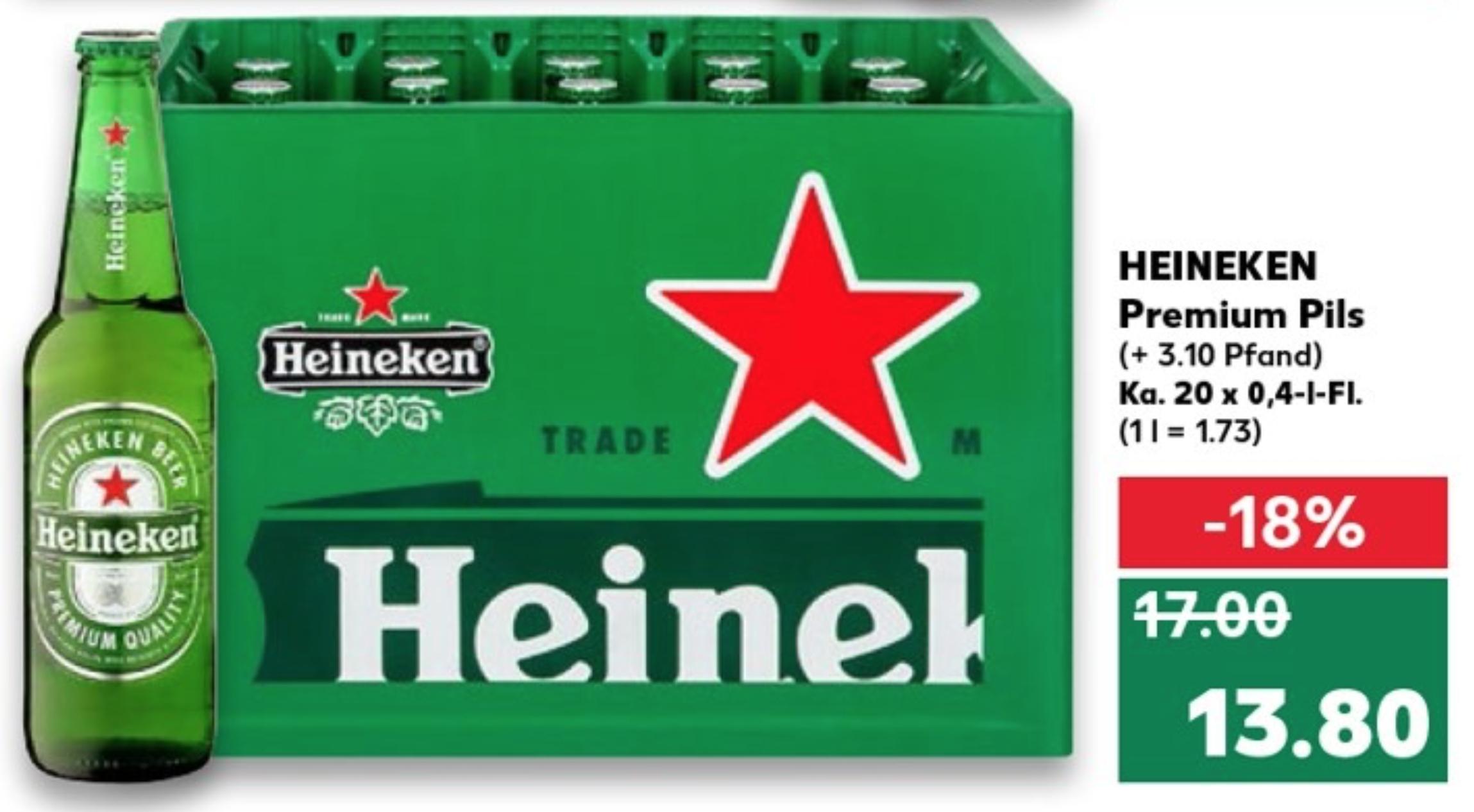 Kaufland Heineken Premium Pils 20 X04l Kozel Premium