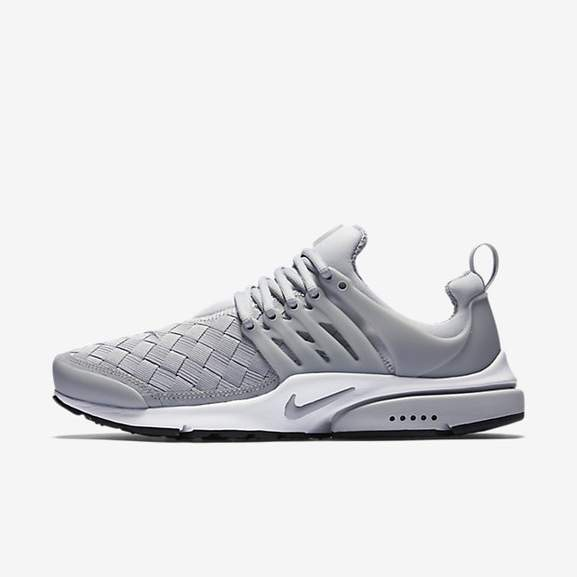 nike air presto schwarz and grau