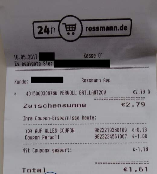 persil coupon rossmann