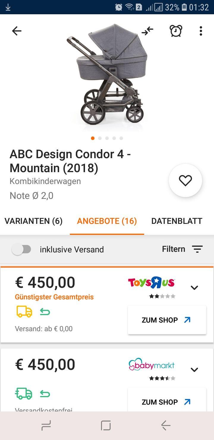 Abc Design Condor 4 Mountain 2018 Mydealzde