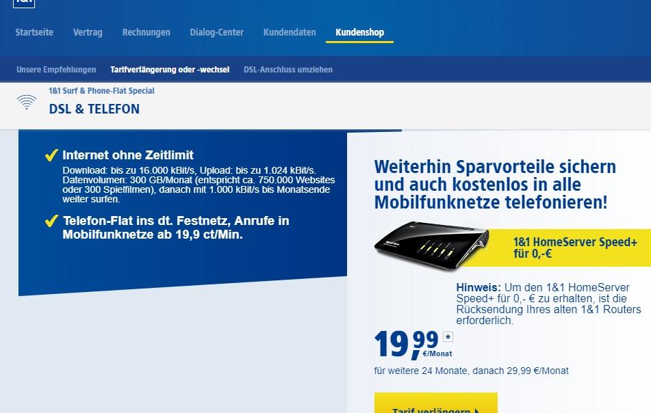 Nur 11 Bestandskunden Vertragsverlängerung Fritzbox 7590