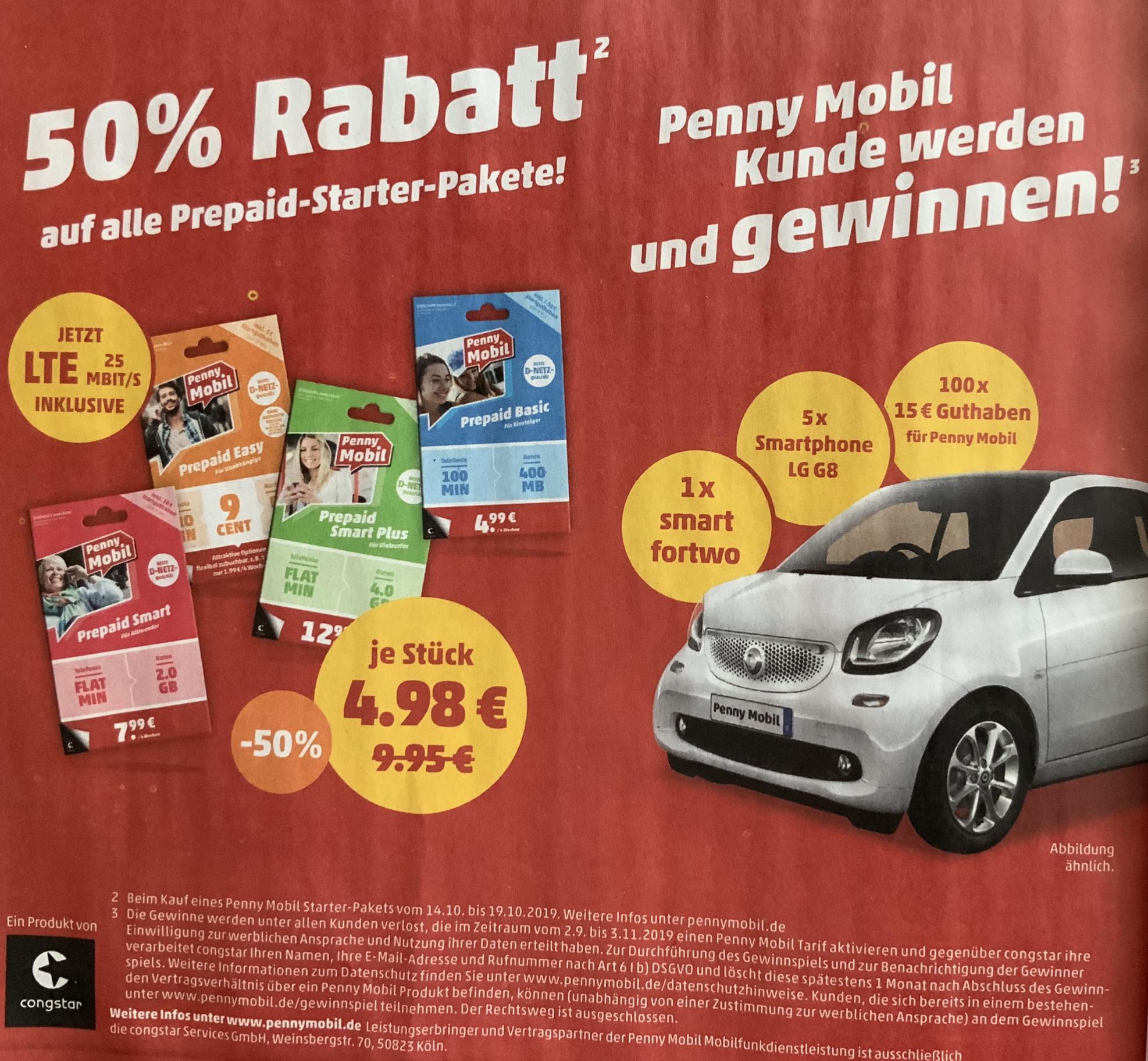 Penny Mobil Prepaid Guthaben Aufladen Mit Prelado