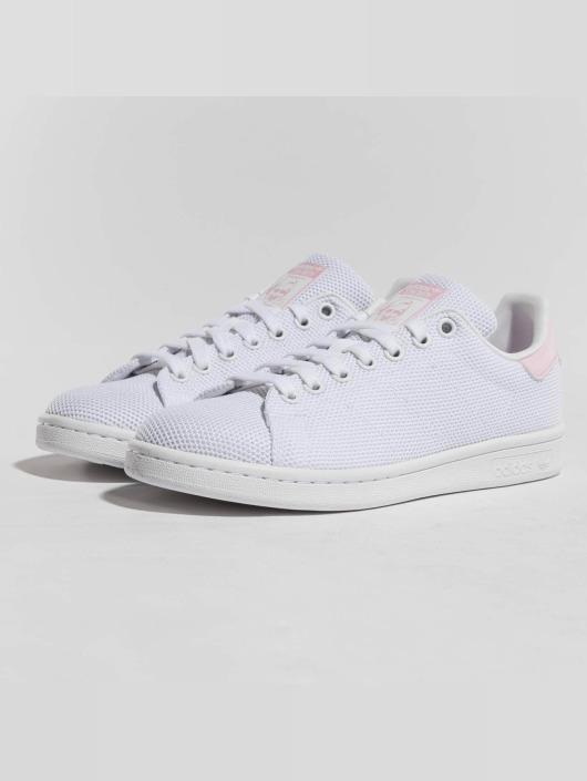 d286917aa63052 adidas originals Stan Smith - Damen Sneaker in weiß pink