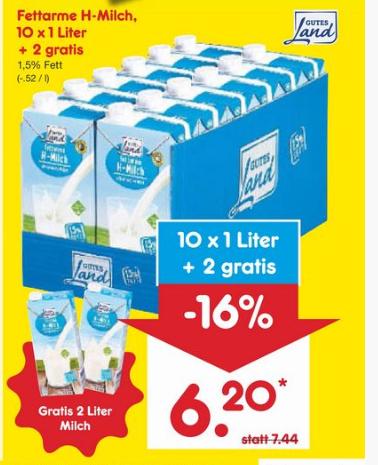 Netto Milch
