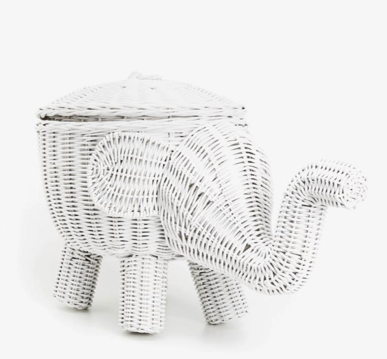 mid season sale g nstigere versandbedingungen bei zara home z b korb in elefantenform 44 89. Black Bedroom Furniture Sets. Home Design Ideas