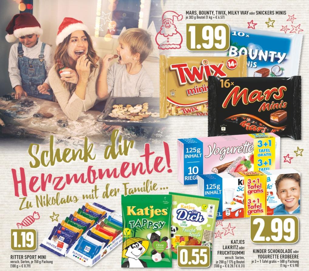 Edeka Rhein Ruhr Ritter Sport Mini Im Seltenen Angebot Mydealzde