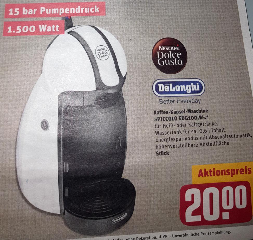 Delonghi Dolce Gusto Piccolo Edg100w Für Nur 20 Inkl 10 Online