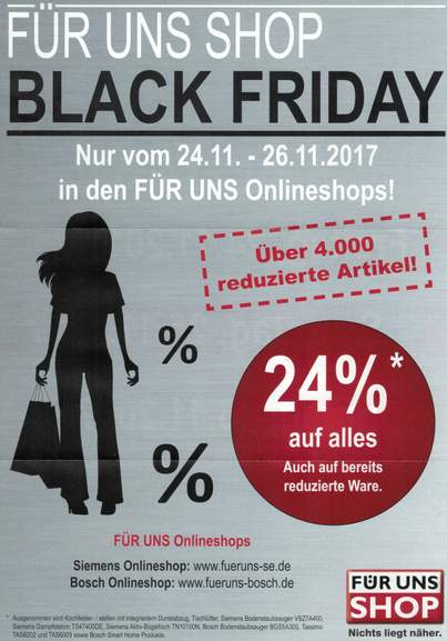 black friday f r uns shop 24 auf die artikel nur. Black Bedroom Furniture Sets. Home Design Ideas