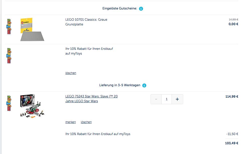 4e6a5267ff8949 myToys - 10% Rabatt auf fast alles - plus LEGO DEAL (ausgeschlossen ...