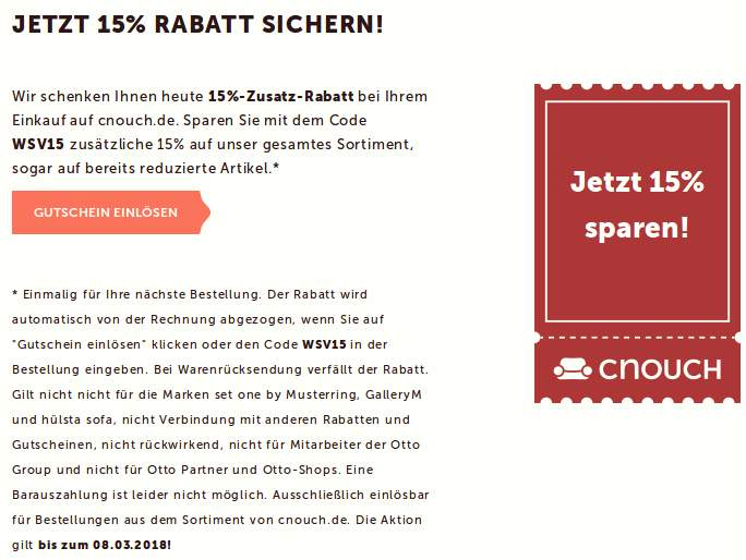 Cnouch Otto Affordable Jetzt Deal Des Monats Sichern With Cnouch