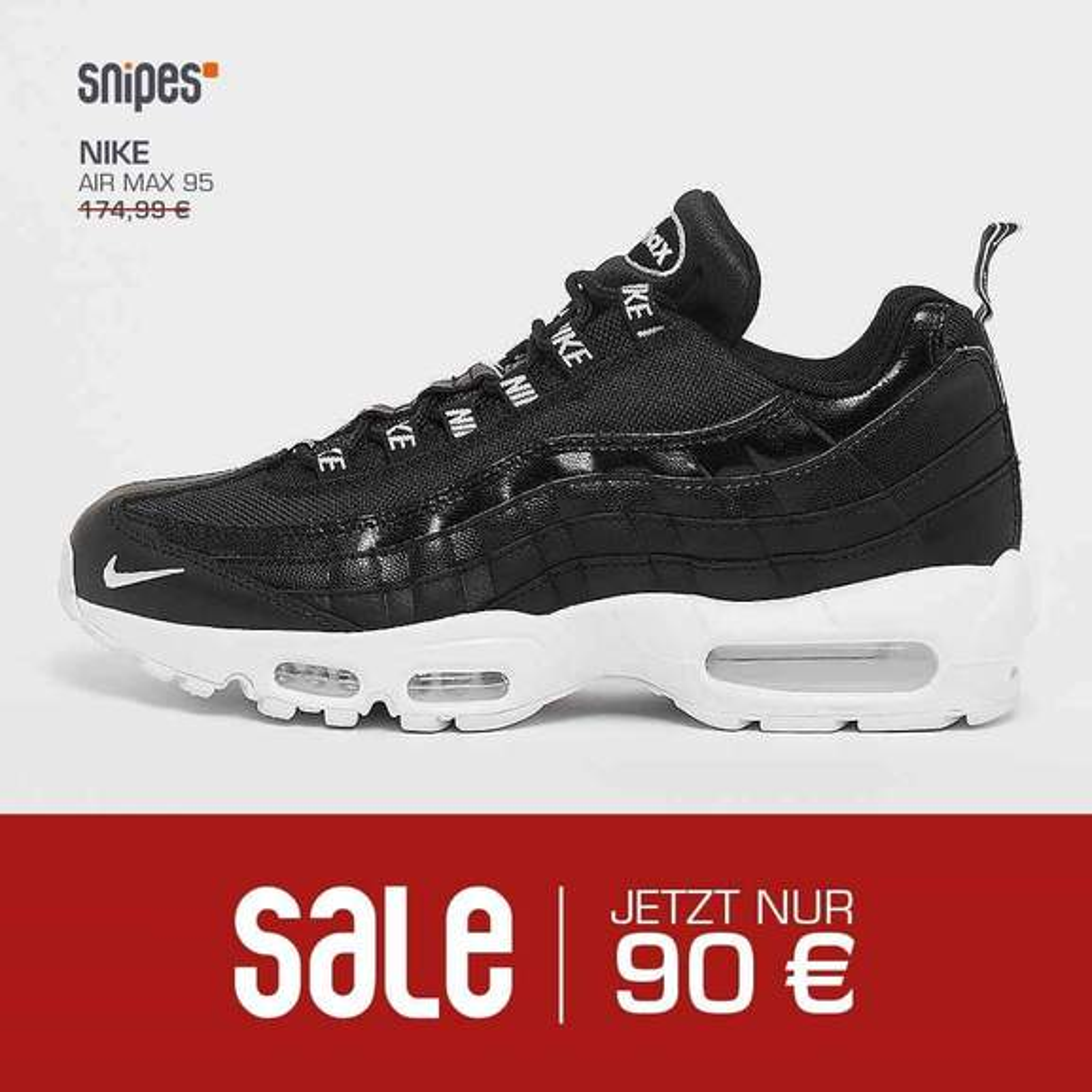 Snipes Store] Super Sale z.B. Nike Air 97 SSL für 90€, Nike