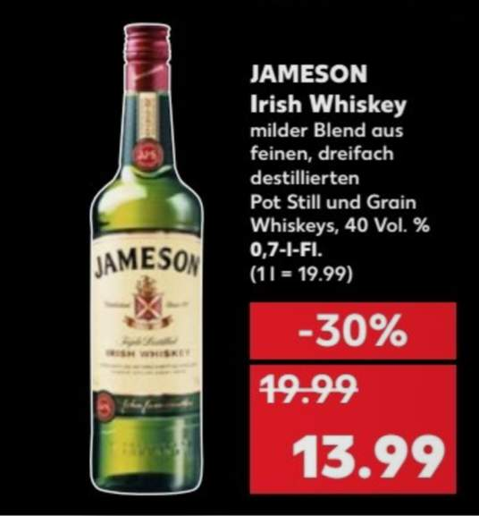 IRISH WHISKEY KAUFLAND