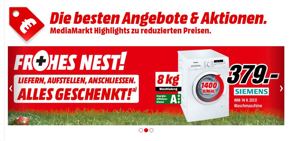 Media markt waschmaschine anschließen