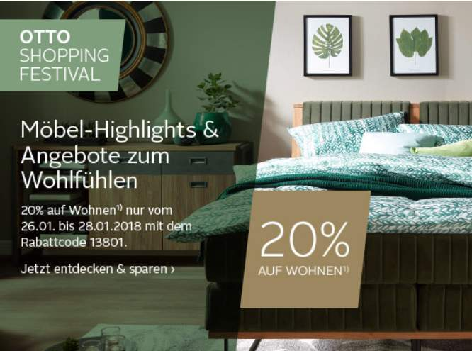 20 auf wohnen. Black Bedroom Furniture Sets. Home Design Ideas