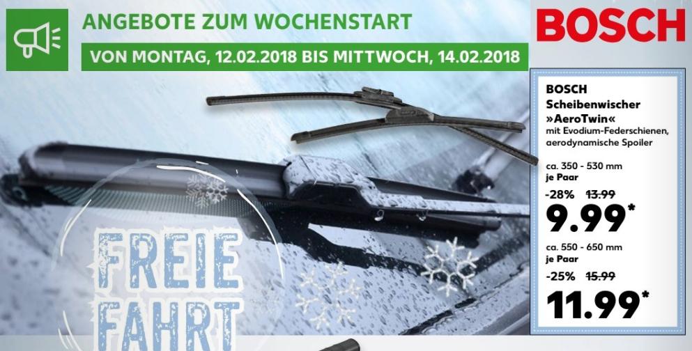 Bosch Aerotwin Scheibenwischer Je Paar Fur 9 99 Klein Bzw 11