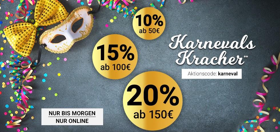 Karstadt Rabatt Aktion 10 Ab 50 15 Ab 100 20 Ab 150