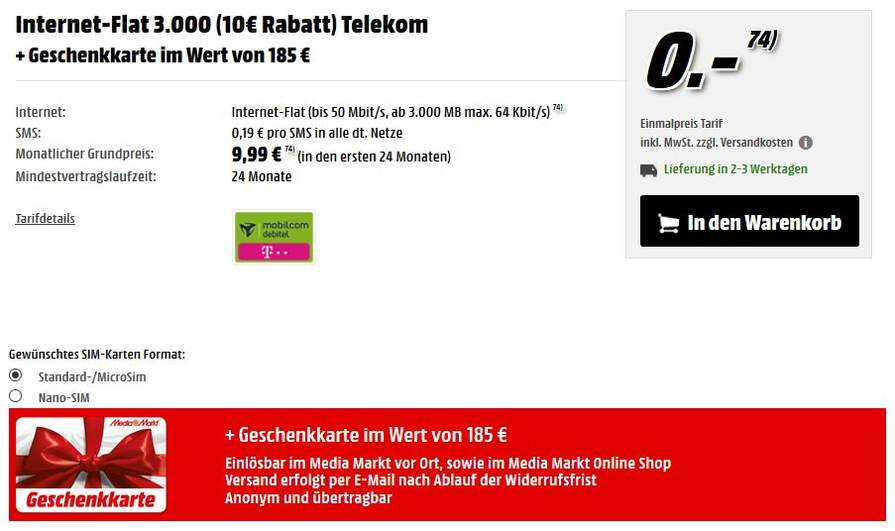jetzt wirds crazy telekom lte datenflats von mobilcom mit 3 gb oder 6 gb f r eff 3 95 bzw 9. Black Bedroom Furniture Sets. Home Design Ideas