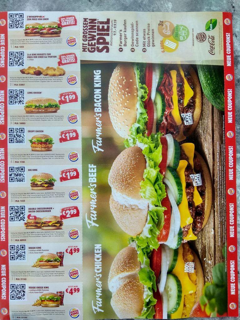 Burger king angebote