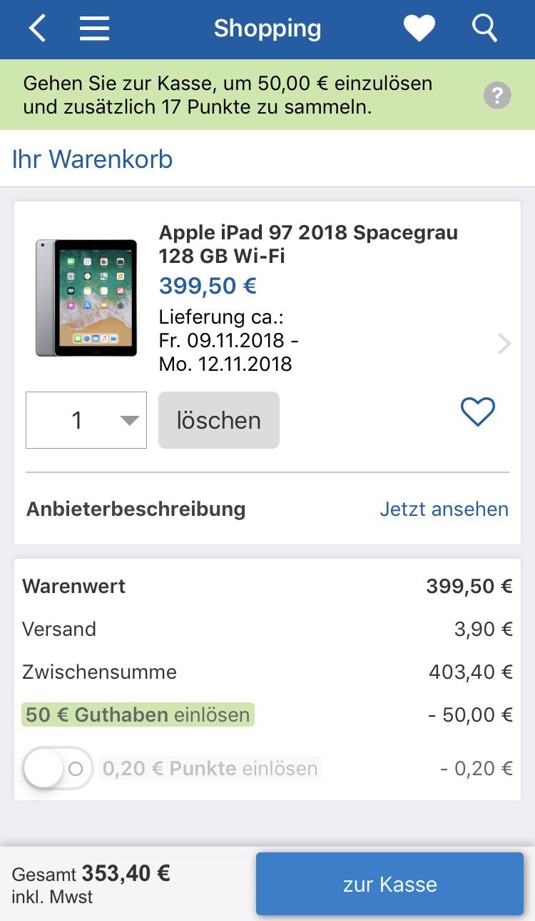 check24 apple ipad 32 gb wifi 2018 mr7f2fd a 6. Black Bedroom Furniture Sets. Home Design Ideas