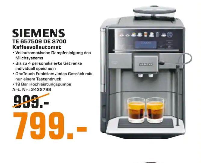 lokal saturn braunschweig siemens eq 6 plus s700 te657509de kaffeevollautomat. Black Bedroom Furniture Sets. Home Design Ideas