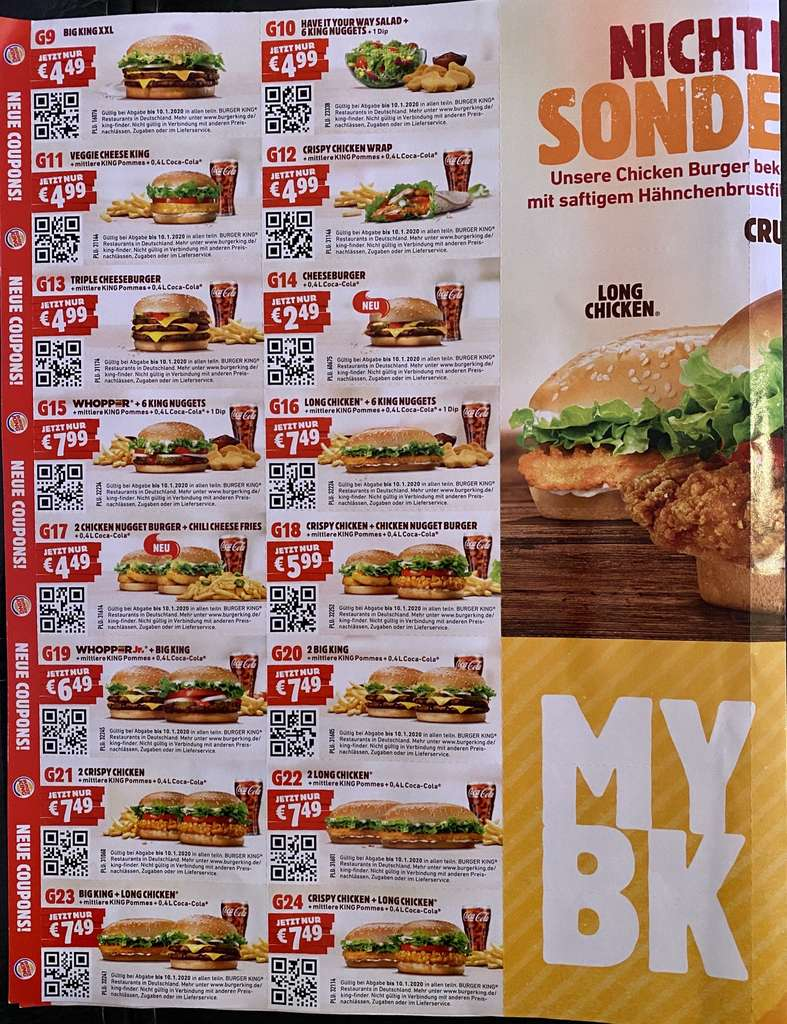 It's just a picture of Mesmerizing Burger King Coupons Printable 2020