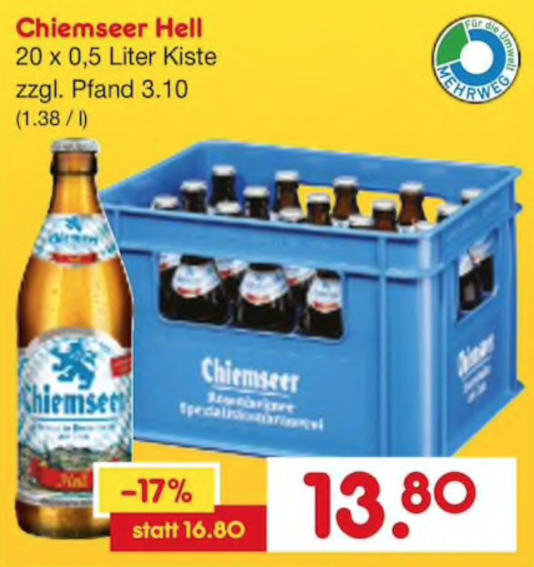 Netto Getränkemarkt Heineken Premium Bier 20 X 04l