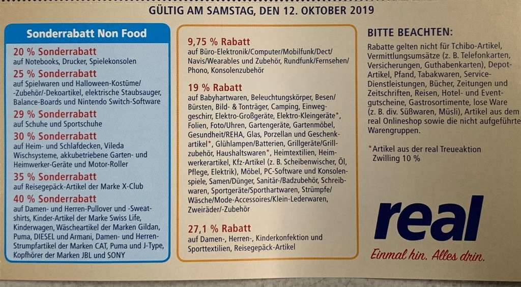 Real 2019 b20Auf Am Z Friends Familyamp; 12Oktober QCWrxdoBe
