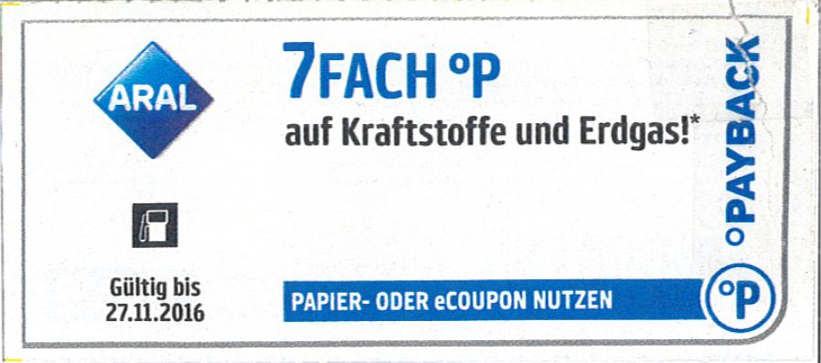 Kaufhof coupons payback