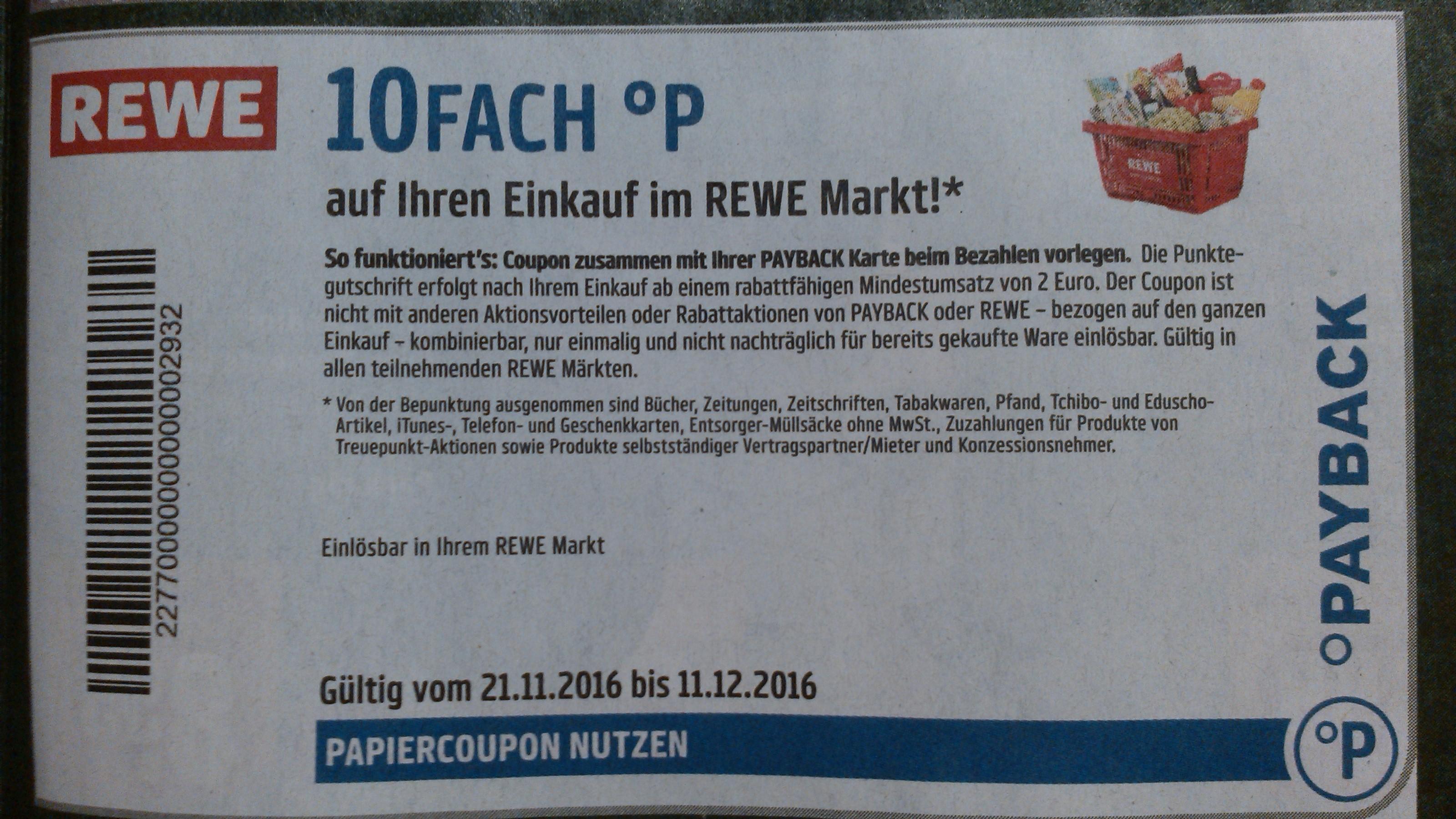 rewe payback coupon