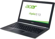 [amazon]  Acer Aspire S 13 (S5-371-56VE) 13,3 Zoll Notebook (Full HD IPS non-glare, Intel Core i5-6200U, 8GB DDR3L RAM, 256GB SSD, Intel HD Graphics 520, Win 10 Home) in schwarz